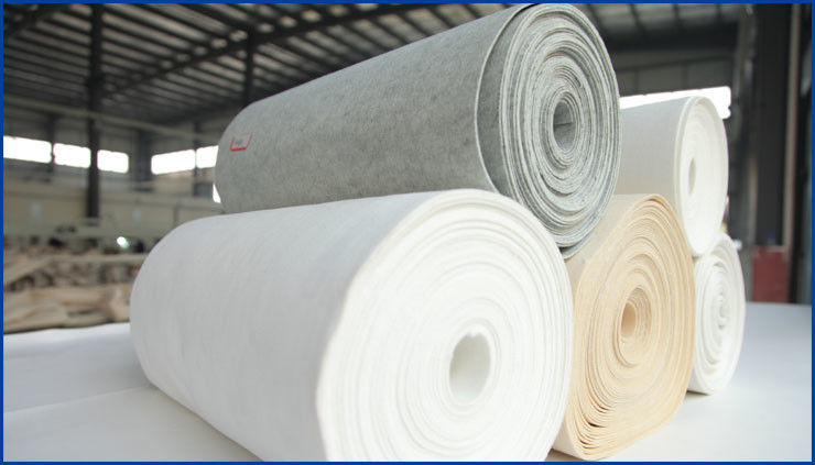 Customized Color Polypropylene Filter Cloth , Filter Cloth Roll Light Weight