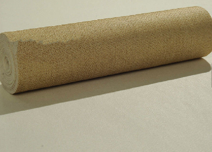 Nomex/M Aramid Non Woven Needle Felt Filter Cloth With Singeing / Het - Setting